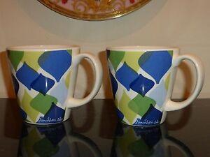2 Jonathan Adler Happy Home Mugs