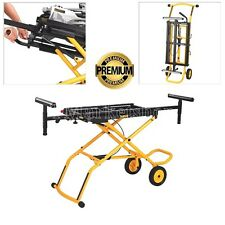 DEWALT Rolling Miter Saw Stand Adjustable Professional Fold Portable HEAVY DUTY
