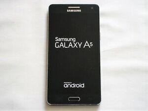 SAMSUNG GALAXY A5 (2015) SM-A500FZKUBTU - BLACK SMARTPHONE - UNLOCKED