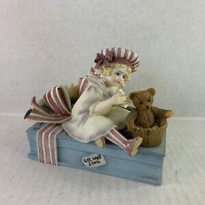 Jan Hagara Peppermint Figurine Make Believe Series,  LE 264/700 Vintage 1998