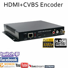 HDMI and Composite CVBS Encoder Youtube Twitch Ustream LiveStream Live Broadcast