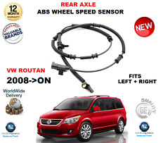 FOR VW ROUTAN REAR ABS SENSOR 2008->ON LEFT or RIGHT HAND SIDE ** OE QUALITY **