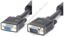 100ft long SVGA/VGA Male-Female Extension Monitor/Video Cable/Cord$SHdi{4xShield