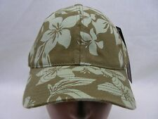 TROPICAL - FLORAL PRINT - OLIVE GREEN - L/XL SIZE FLEXFIT BALL CAP HAT!