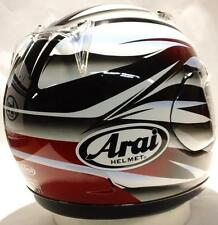 Arai Quantum/f Mach 2 Red rare motorcycle helmet Md & Lg  Ducati Quantum f 2