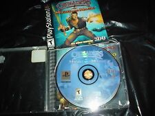 Crusaders of Might and Magic RaRe PS1 2002 Playstation Video GAME CD Complete