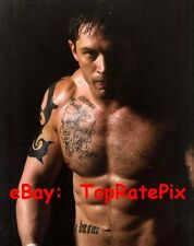 TOM HARDY  -  Barechested Warrior  (Gay Int.)  8x10 Photo #2