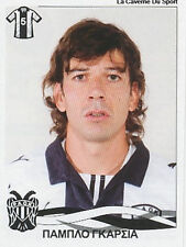 N°280 PABLO GARCIA # URUGUAY PAOK FC STICKER PANINI GREEK GREECE LEAGUE 2010