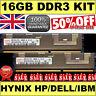 16GB 2Rx4 PC3-10600R DDR3 Hynix HMT31GR7BFR4C equiv. HP P/N  500662-B21  £249.95