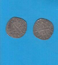 PHILIPPE IV Le Bel (1285-1314) Double Tournois billon Lot H PORT GRATUIT FRANCE