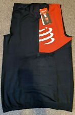 Compressport Triathlon Postural Tank Top, Black, Extra Large