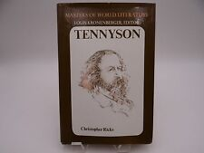 Masters of the World Literature - Tennyson by Christopher Ricks (Hardcover)