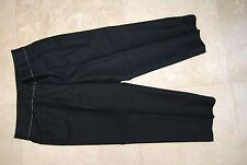 Black ANN TAYLOR Stretch Capri Cropped Pants 4
