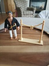 Vintage REMCO Karate Kid Sato Complete With ACCESSORIES Nice!