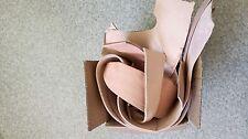 2 kg Blankleder Dickleder rein pflanzlich 2 - 4 mm natur Messerscheiden LARP