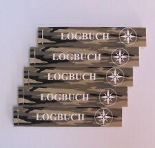 5 x Geocaching Logbücher für Petlinge, Camouflage, Logbuch