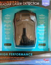 ~NEW~ Whistler Z-19R+ High Performance Bilingual Radar Laser Detector