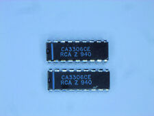 "CA3306CE ""Original"" RCA  18P DIP IC  2  pcs"