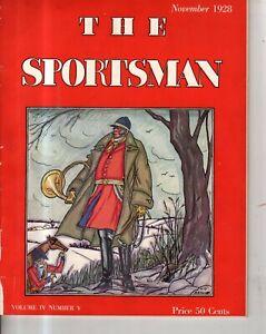 1928 Sportsman - November - Alligators and Gorillas; Glenna Collett of Golf