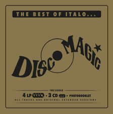 """The Best Of Italo...Discomagic"" Box 3CD+4LP+Booklet"