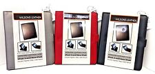 BRAND NEW Wilsons Genuine Leather Folio Case for iPad 2 & iPad 3 (3 Colors)