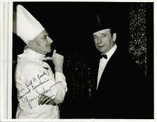 YVES MONTAND - INSCRIBED PHOTOGRAPH SIGNED