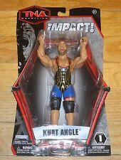2010 TNA Impact Jakks Kurt Angle Wrestling Figure MOC MIP Series 1 WWF WWE