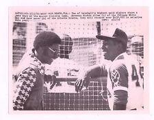 3/15/73 RICHIE ALLEN BASEBALL WIRE SERVICE PHOTO CHICAGO WHITE SOX AARON BRAVES