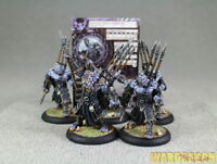 40mm Hordes WDS painted Legion of Everblight Blighted Ogrun Warspears v58