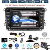 AUTORADIO 2DIN GPS NAVI DVD BLUETOOTH Für VW GOLF 5 PASSAT TOURAN TIGUAN POLO T5