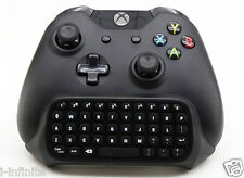 New 2.4G Mini Wireless Chatpad Message Keyboard for Xbox One Controller Black
