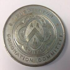 Comité Vintage Chesterton coronación medalla rey Eduardo VII 1902
