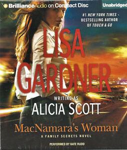 Audio book - MacNamara's Woman by Alicia Scott    -   CD