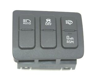 2011-2015 Lexus GS350 GS450h Traction BSM Auto Headlight Wash Control Switch OEM