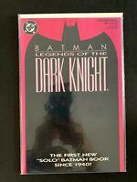 BATMAN LEGENDS OF THE DARK KNIGHT #1 (PINK COVER) DC COMICS 1989 NM+