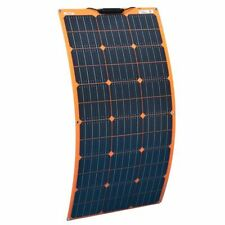 Waterproof Flexible Solar Panel 100w 18v 12v Solid Chargers For Home Kit Systems