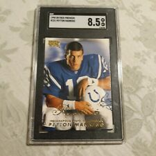 New listing GRADED  1998  PEYTON MANNING  SKYBOX PREMIUM   ROOKIE CARD Indianapolis Colts