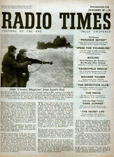 RADIO TIMES 25 JAN 1948 . COUNTRY MAGAZINE FRONT COVER