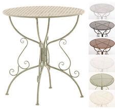 Tables de jardin et terrasse en métal
