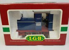 LGB Lehmann G Scale Field Railroad Diesel Locomotive JONNY w/ Decoder #22910 MIB