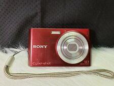 Sony Cyber-shot DSC-W510 12.1MP Digital Camera with 4x Optical Zoom - Red