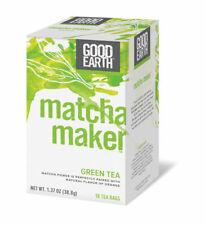 Good Earth Teas Matcha Maker Green Tea Orange 18 Tea Bags Formerly Super OCT '21