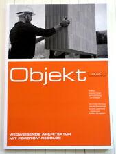 Objekt 2020 - Architektur - Bilder, Skizzen und Details, Neubauten mit Poroton