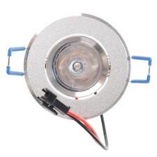 2X(3W LED Recessed Downlight Ceiling Lamp Spotlight RGB With Remote U3V7)