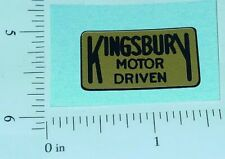Kingsbury Motor Driven Toys Replacement Sticker  KG-002