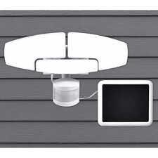Sunforce LED Solar Motion Security Light 1500 Lumens Adjustable Heads Easy DIY