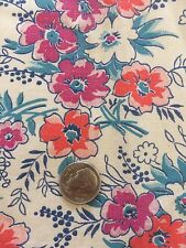 Prim Fabric Cotton Vintage Antique Material Remnants Flowers Quilting Primitive