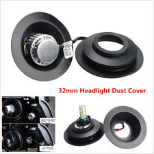 Universal Rubber Housing Seal Cap Dust Cover Headlight Install HID LED Retrofit