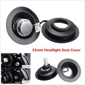 Universal Rubber Housing Seal Cap Dust Cover Headlight Install HID LED Retrofit