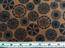 Benatex - Origins By Jennifer Young P797 Brown - 100% Cotton Fabric